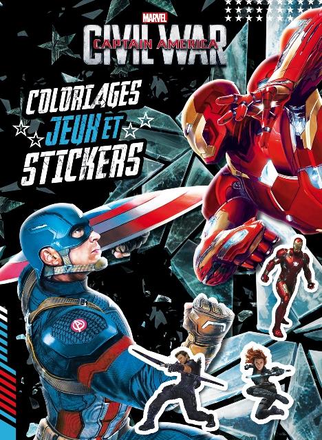 Coloriages, jeux et stickers – Hachette – 5Ç