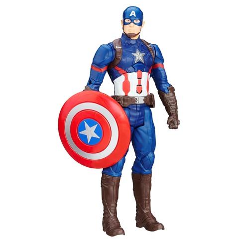Figurine articulÚe parlante Captain America, 30cm – Hasbro – 26.90Ç