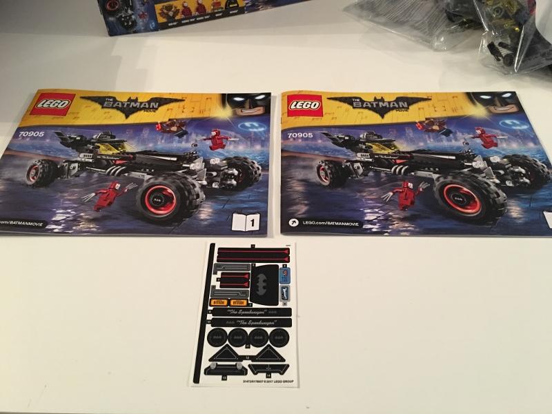 Review: Lego The Batman Movie – The Batmobile (70905)